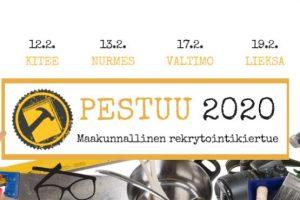 Pestuu-kiertue – löydä kesätyöpaikka, vakiduuni tai suunta jatko-opintoihin!