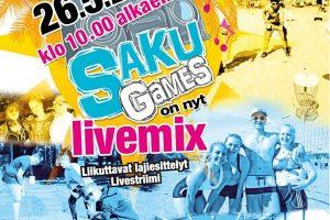 SAKUgames livemixin lähetys 26.5. klo 10