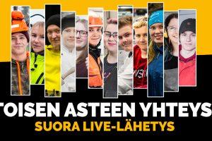 Toisen asteen yhteys live-lähetykset 28.10.2020