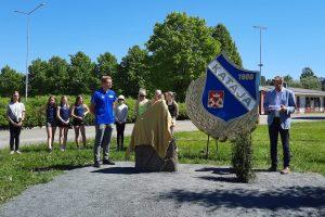 Joensuun Kataja ry:n taideteoksessa näkyy Riverian opettajien ja opiskelijoiden kädenjälki